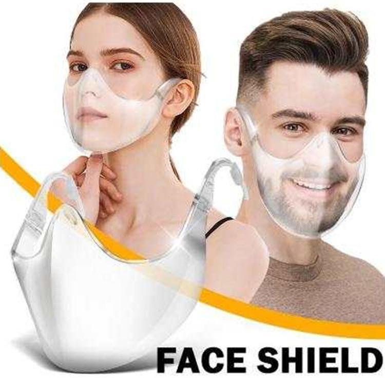 선명한 얼굴 방패 투명 보호 마스크 바이저 보호 내구성 재사용 가능