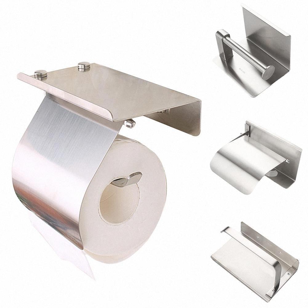 Нет Буровой Настенная Roller папиросной бумаги держатель телефона Туалет Ванная комната Gadget горячей b4of #