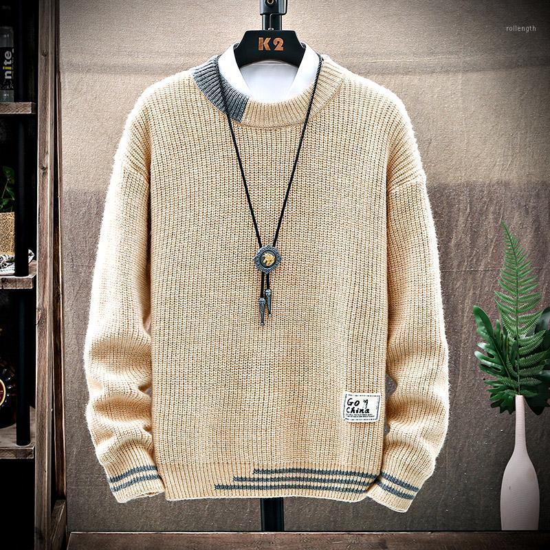 Autunno inverno nuovo maglione spessore uomo abbigliamento di alta qualità uomini pullover vestiti morbidi caldo 2020 maglioni a maglia maglioni maglioni mens1