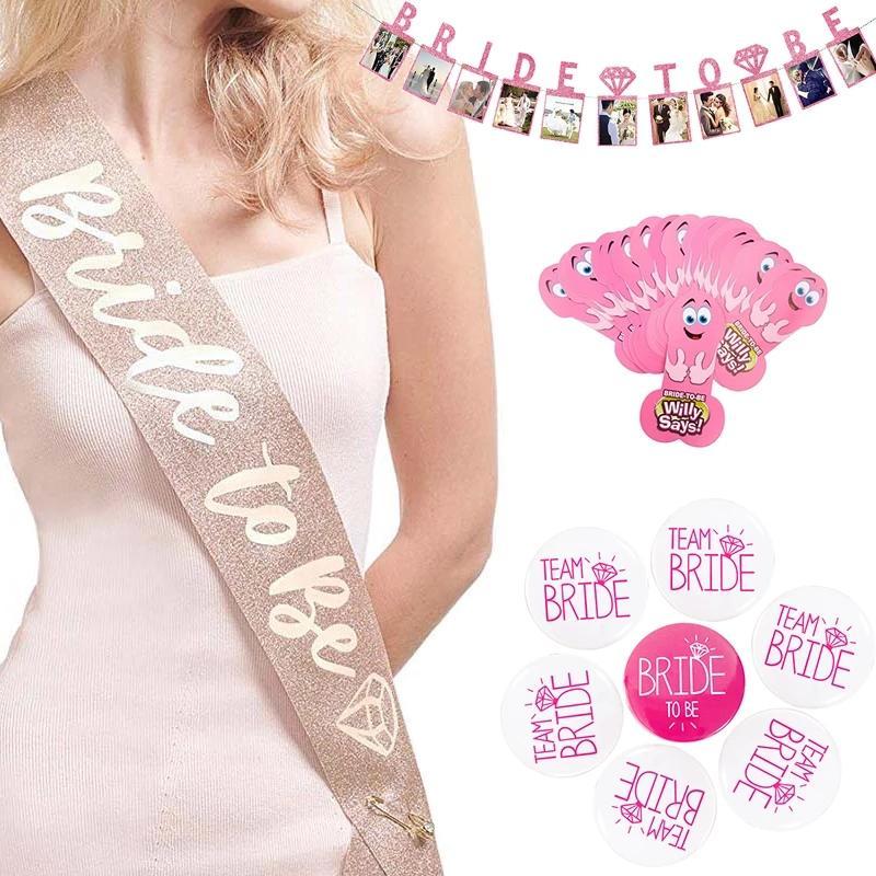 Team Braut Stamm Schärpe Für Hochzeit Henne Party Brautdusche Bachelorette Party Dekorationen Gefälligkeiten Geschenke 4