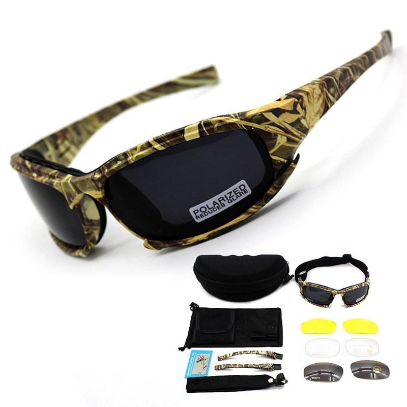 Óculos de cor fãs de cor táticas camuflagem noite visão óculos