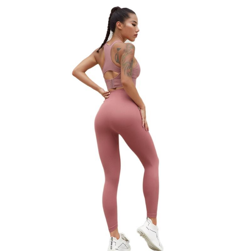 workout leggings high waist Women Yoga Pants Fitness Sport Soft Naked-feel Running hot pants Gym Quick Drying Training Tights