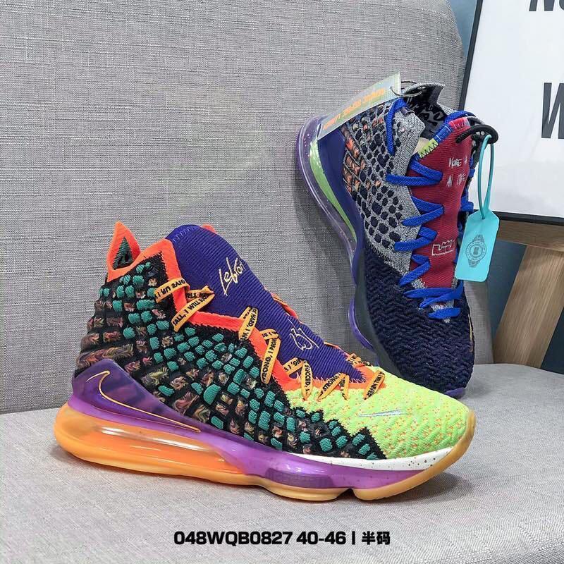 2020 Últimas 40-46 A mais alta qualidade de designer LEBRON XVII LOW EP sapatilhas homens chaussures esportes executando Basquete sapatos de plataforma negra