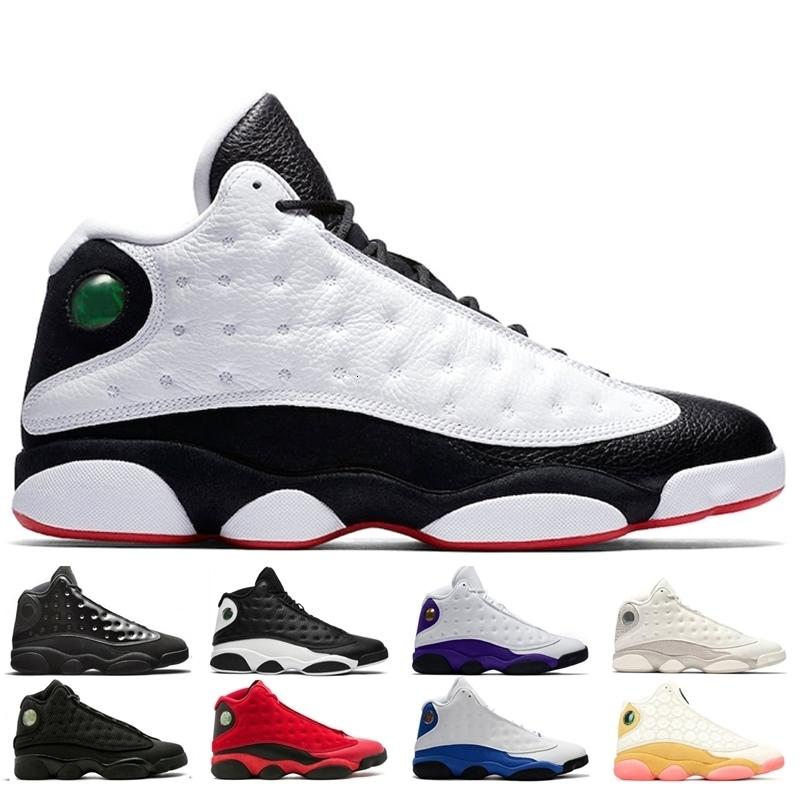 Novos sapatos de basquete 13 13s homens mulheres amor respeito História branca de voo; Hof Court Roxo Hyper Royal Mens Sneaker Sapatos