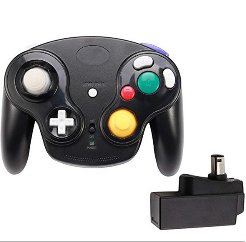 Top Quality 2.4GHz Game Controller Wireless Gamepad Joystick per Nintendo GameCube per NGC Wii con imballaggio al dettaglio
