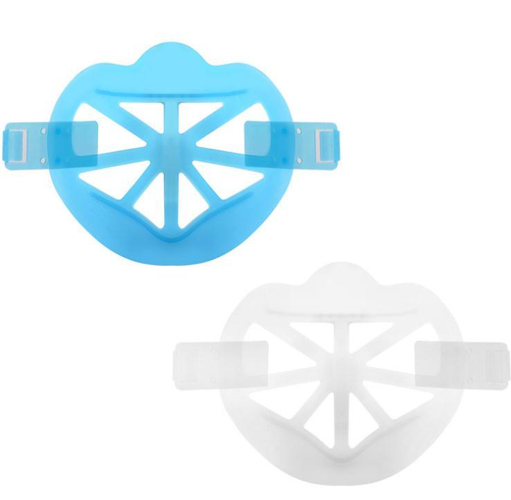 3D Maske Halterung Knopf Befestigung Lippenstift Schutzständer Maske Innenstützrahmen Gesichtsmasken Halter Werkzeug Zubehör SN3451 FVJBQ