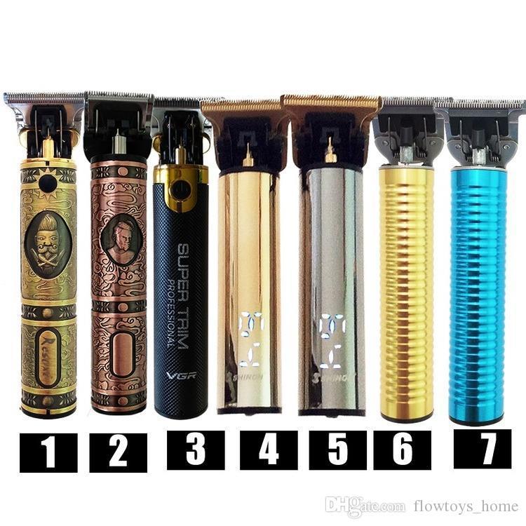 58% Off 2021 USB Rechargeable Hair Clipper Elektryczny Trymer Do Włosów Cordless Golar Trymer 0mm Mężczyźni Fryzjer Fryzura Do Mężczyzn Nowy