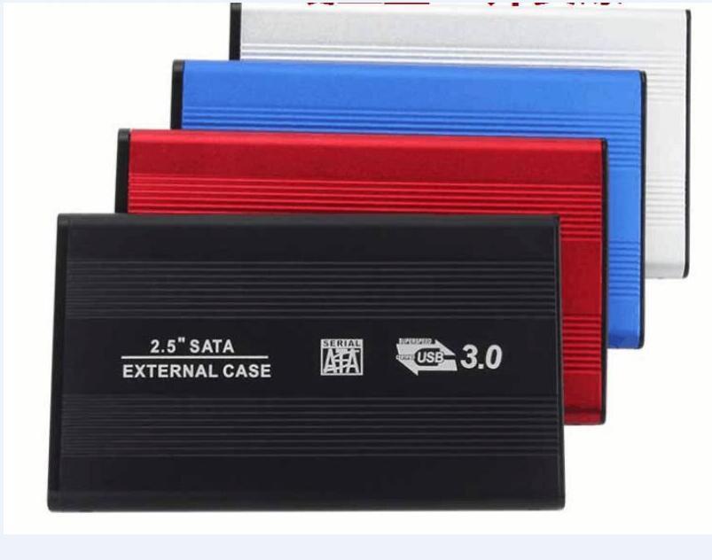 2.5 인치 USB 3.0 HDD 케이스 하드 드라이브 디스크 SATA 소매 상자가있는 외부 스토리지 인클로저 박스