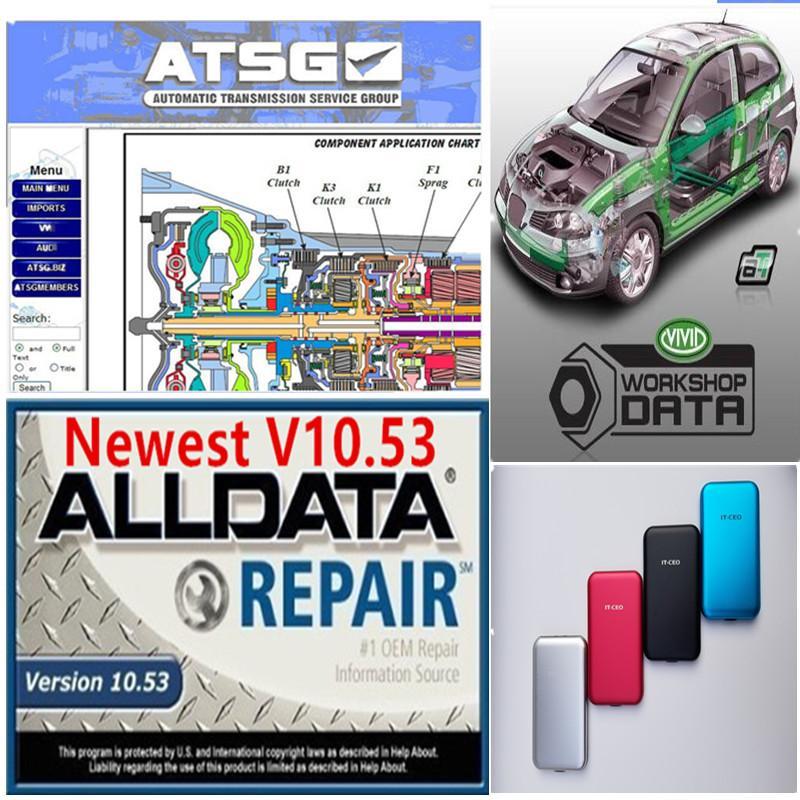 2020 Горячие Авто Ремонт Soft-Ware Всех данные Программистов автомобилей с Технической поддержкой USB 3.0 750GB HDD