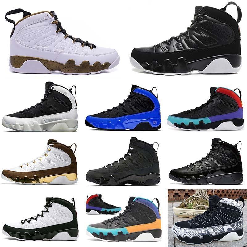 Hotsale 9 Racer Blue Dream it do it jumpman 9s Snakeskin men basketball shoes space jam release statue mens sneakers designer shoes