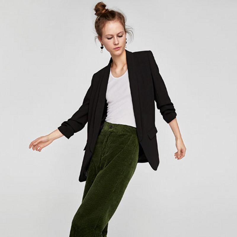 Vestes formelles de printemps casual taille plus mince veste de costume 2020 dames vêtements de travail de bureau à manches longues rose veste rouge noir