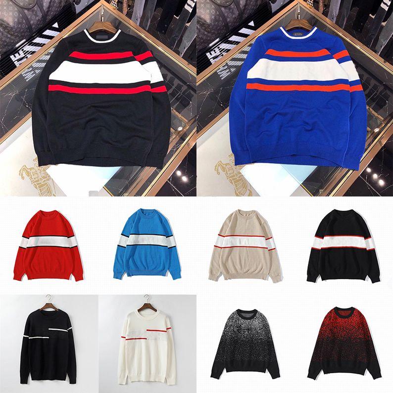 21SS 남성 여성 디자이너 스웨터 럭셔리 편지 풀오버 남자 까마귀 긴 소매 활성 스웨터 자수 니트웨어 겨울 옷 2021