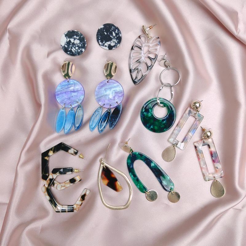 Wholesale Ювелирные Изделия Мода Ювелирные Изделия Уникальный Золотой Цвет Имитация Перл Кулон Серьги для женщин 2020 Новый