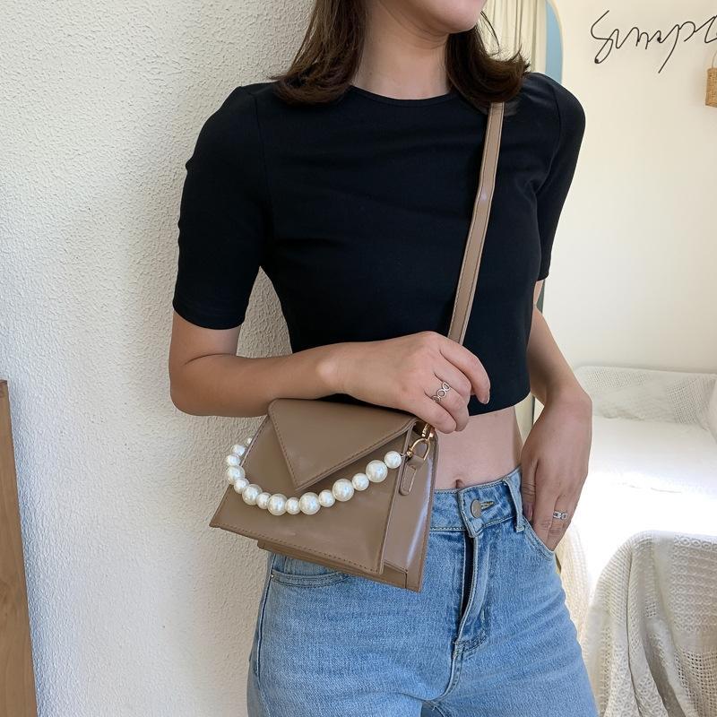menina do verão 2020 nova cadeia de moda fresco moda pode ser usado com o saco quadrado INS Individual carteiro pequeno quadrado pequeno bagShoulder Mensageiro Ba
