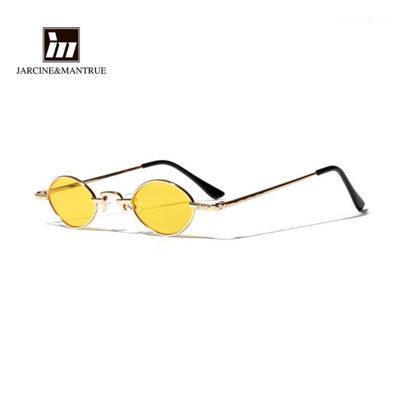 Солнцезащитные очки Ультрамальная рамка Круглый Ретро Ультра Светлые Женщины Хип-Хмель Очки Men1