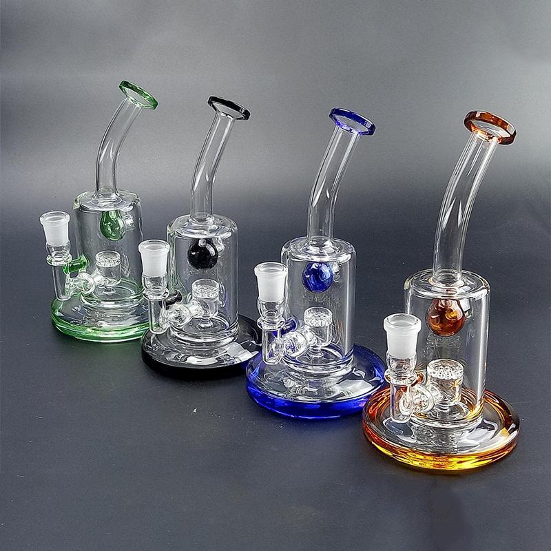 Tuyaux en gros et au détail en verre pipe de tuyau d'huile d'huile de brûleur d'huile d'épaisseur Pyrex en verre vitre vitrage majuscule eau bangs gb-364