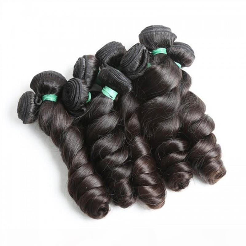 HotSale Brasileño Virgin Human Hair Wee Wave Flojo Onda Sin procesar Malasia Peruano Pelo Pelo Best Calidad Pelo, 400gr Lot