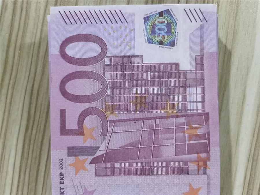 500 EUR цвета моделирования банкнот Bar реквизит профессиональные 100 частей / мешок горячей продажи 02