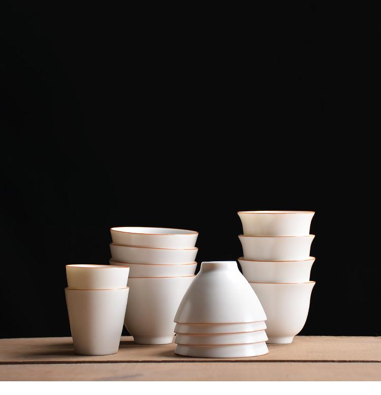 white ceramic tea cup ceramic teacups porcelain cup
