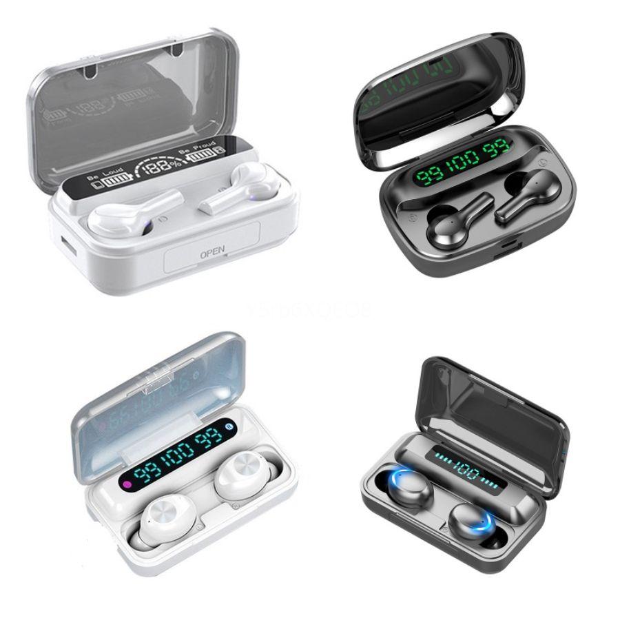AF-A1 Twins TWS Kablosuz Bluetooth Kulaklık Mini Bluetooth V4.2 Kulaklık Kulaklık Stereo Spor Müzik Kulaklık için Iphone # 399