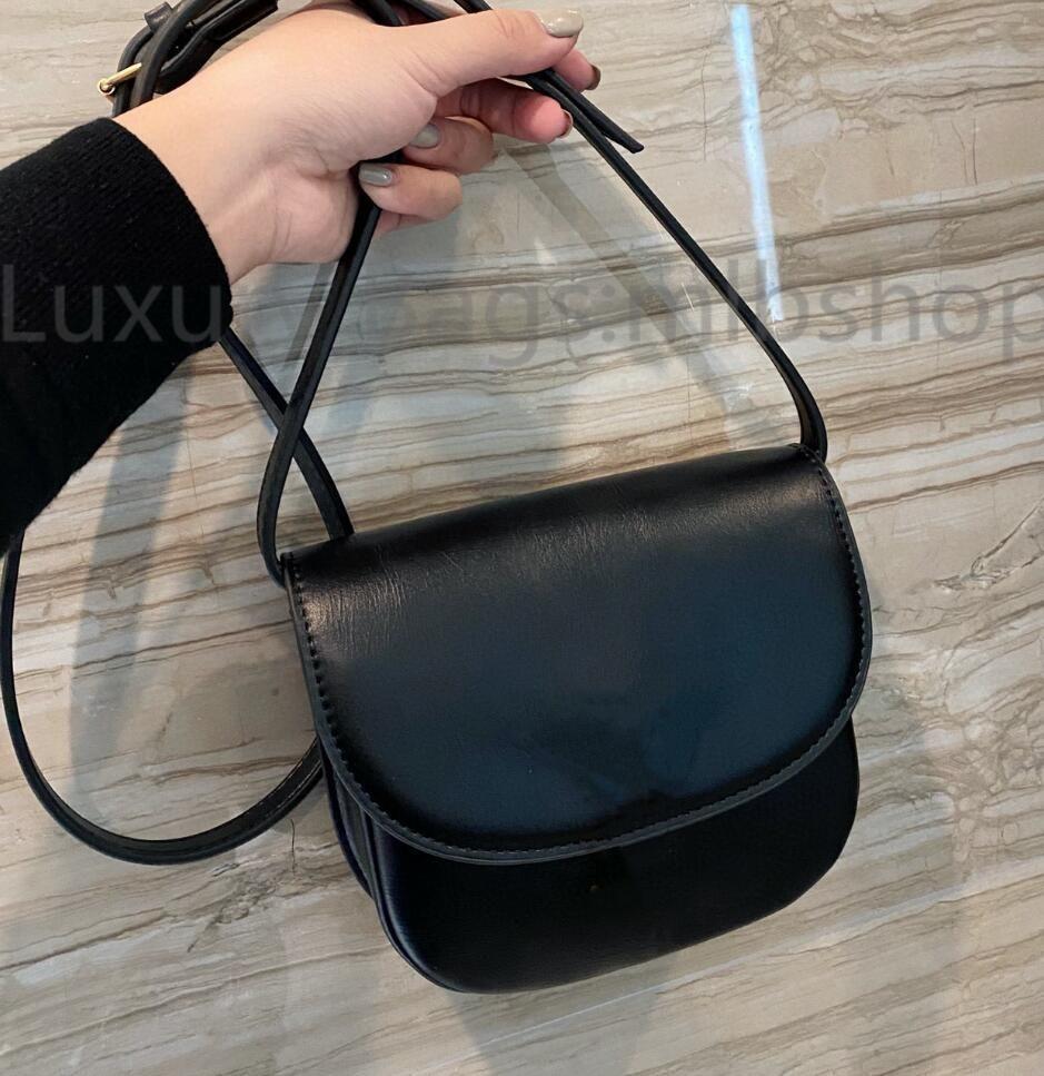 2021 Quality Shoulder Designers Luxurys Bag CrossBody Saddle Genuine Handbag High Leather Ladies Womens Fashion Purse Handbags919 Wvcuq