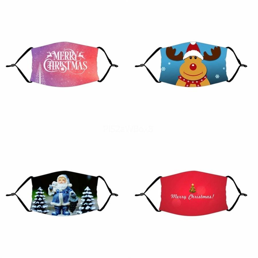 Tasarımcı Buz İpek Yüz Maskeleri Baskılı Renkli Maskeler Anti Toz Mascherine # 153