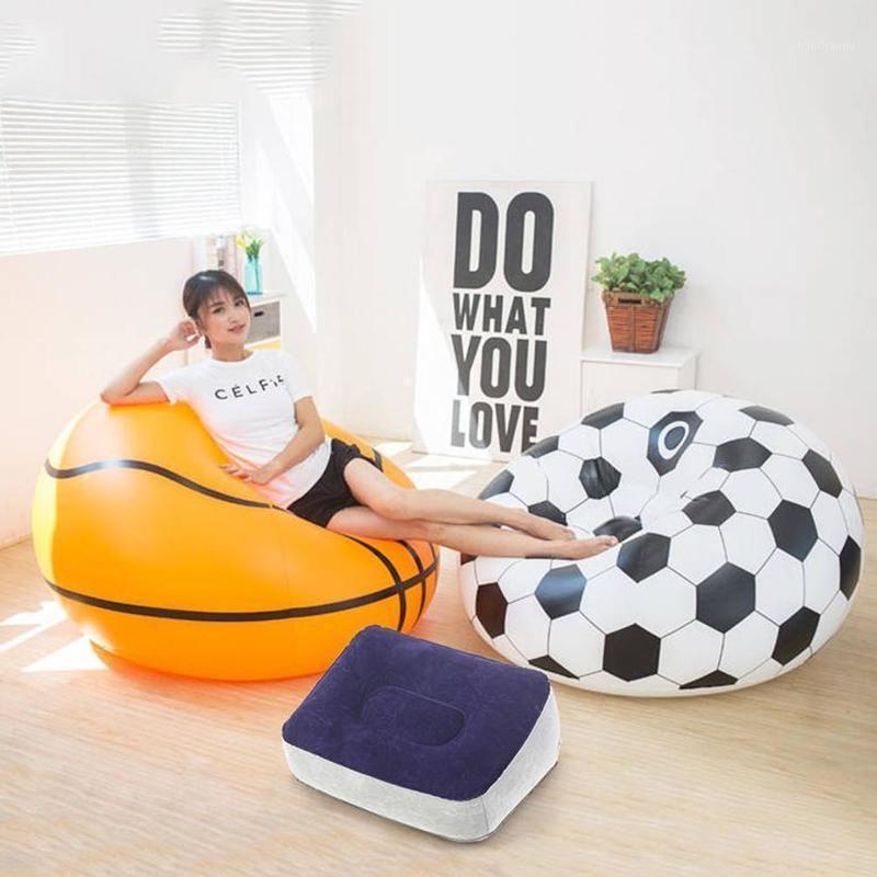 Schlafsäcke 2021 Air Sofa Fast Aufblasbare Lazy Bag Beach Stuhl Outdoor Camping Tragbare Bag1