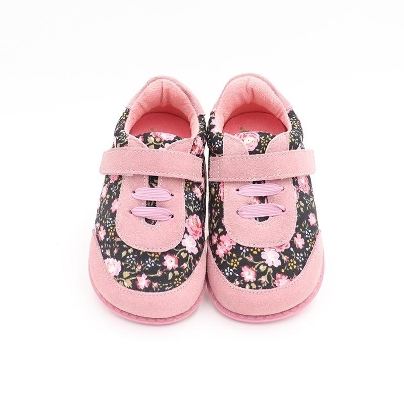 Tipsietoes Brand Высококачественные модные ткани Шищеные Детские Обувь для мальчиков и девочек Весна босиком кроссовки 201130