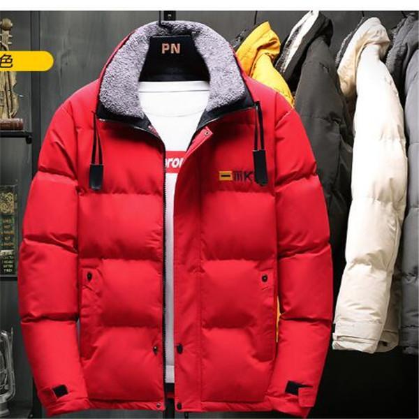 2020 inverno giovani uomini cotone cappotto versione coreana di utensili incappucciato allentato cappotto caldo cotone giacca giacca della tuta sportiva vestiti parka