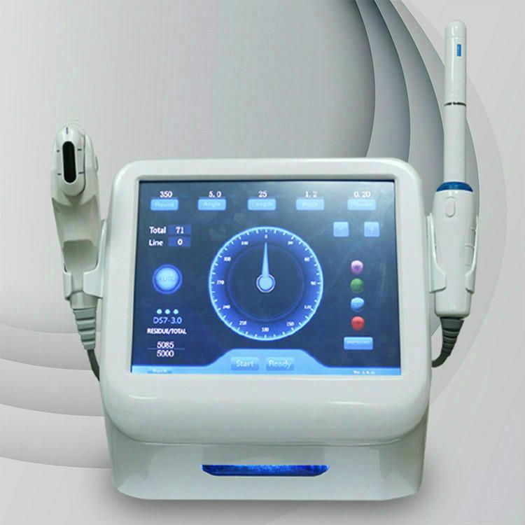 360 ° HIFU Focalizzato ad ultrasuoni focalizzato ad alta intensità HIFU MACCHINA VAGINALE 3.0MM 4.5mm per le donne Utilizzare il serraggio vaginale B