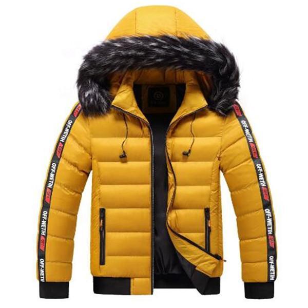 2020 autunno inverno nuovi caldi incappucciati imbottiti vestiti di modo del rivestimento degli uomini giù caldo di vendita giacche imbottite di spessore vestiti parka