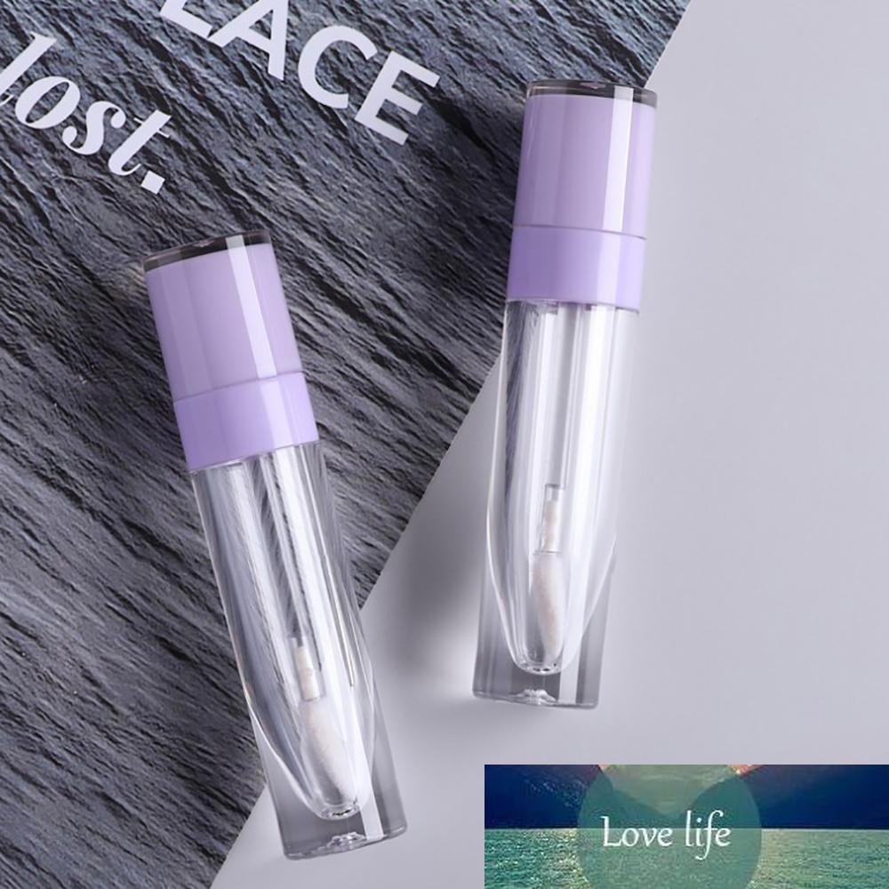 6.4ml vides de la lèvre brillant bouteille glaçure tubes de glaçure de lèvres mignon tube à lèvres rose rechargeable maquillage recharge pour le récipient cosmétique de rouge à lèvres DIY