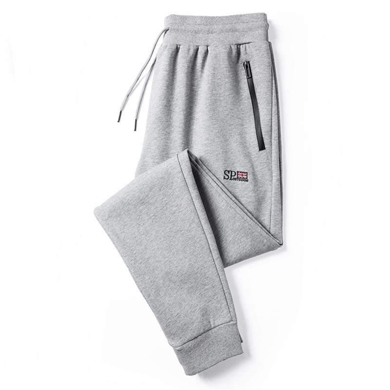 Streetwear Joggers Hombres Algodón Causal Causal Running Pantalones de ropa deportiva Hombre Hip Hop Sweetpants Track Pantalones de gran tamaño Y201123