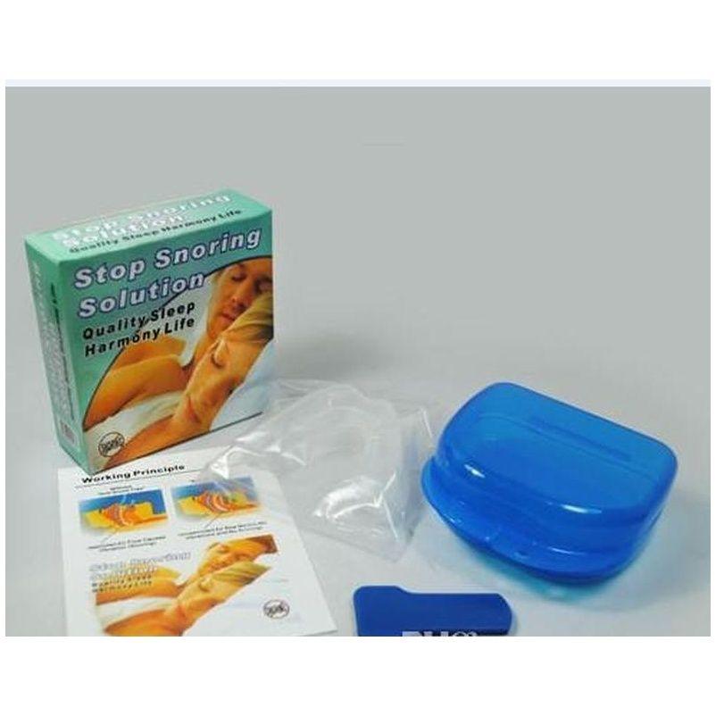 Drop Shipping 10 Adet Anti Snore Apne Kiti Ağızlık Anti Horlama Ağız Tepsi Horlama Stoper Snoring Soluti SQCPXB Topscissorsorss