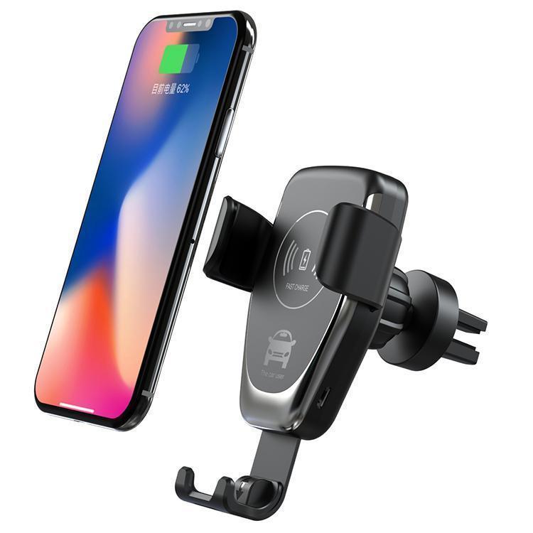 10W Qi voiture chargeur sans fil rapide recharge Pad Dock Stand pour iPhone 11 Pro Max pour Samsung Huawei P30 Pro Smart Automatic Sensor