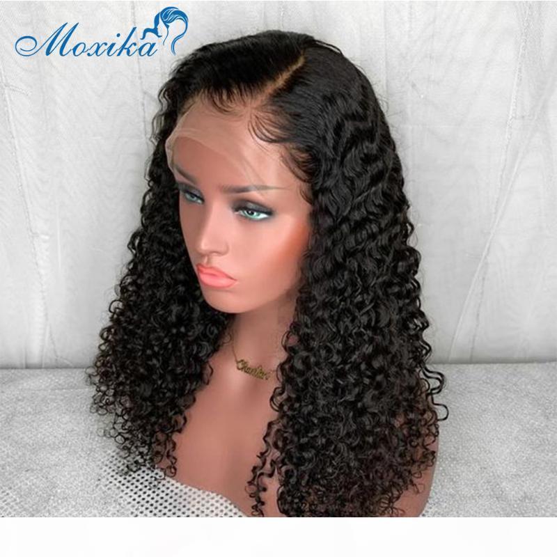 Perruque profonde perruque de lacet de lacet Human Hair Perruques 4x4 Fermeture perruque Remy150 180 13x4 Fermeture en dentelle Perruques de cheveux humains