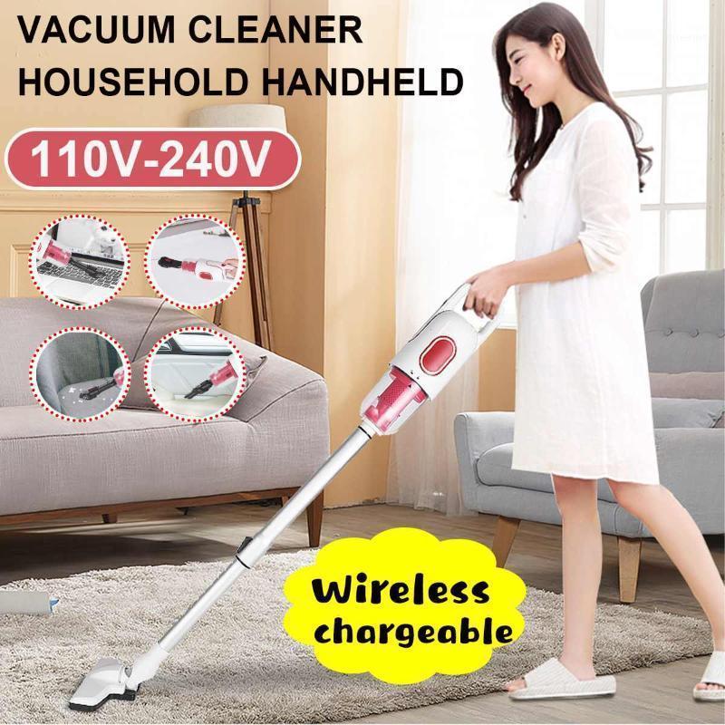 2 en 1 Limpiador de vacío portátil inalámbrico sin protección Aspirador de hogar Sweeper Machine Coche PET PEAR Alfombra Mite Removal1