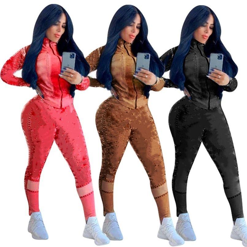 النساء رياضية مثير طويلة الأكمام اللياقة البدنية مريحة الملابس الرياضية ملابس فاخرة بسيطة جودة عالية فريدة بسيطة klw5081