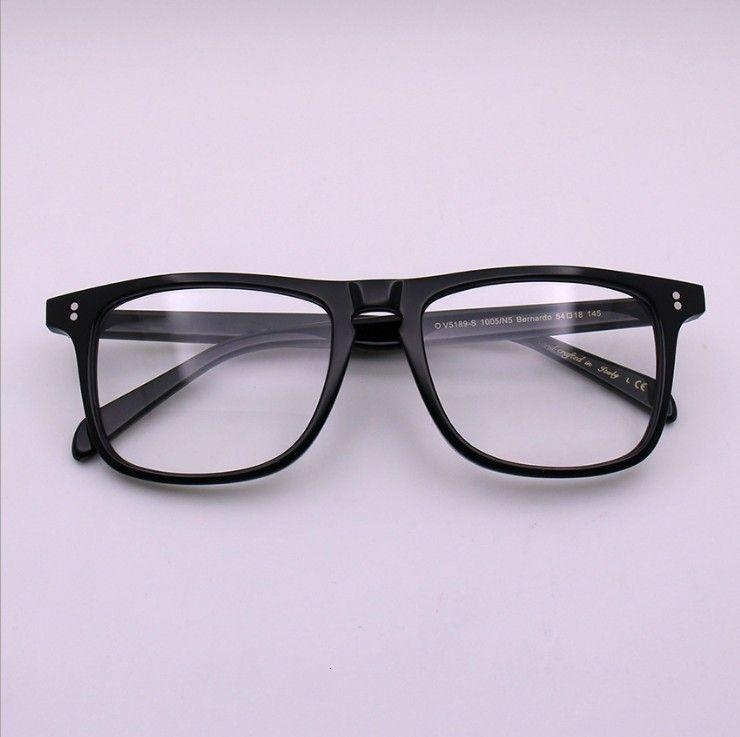 Brillenrahmen Marke Designer OV5189 Männer Frauen Hohe Qualität Quadratische Vintage Geschenk Gläser Optische Brillen Lesen Oculos