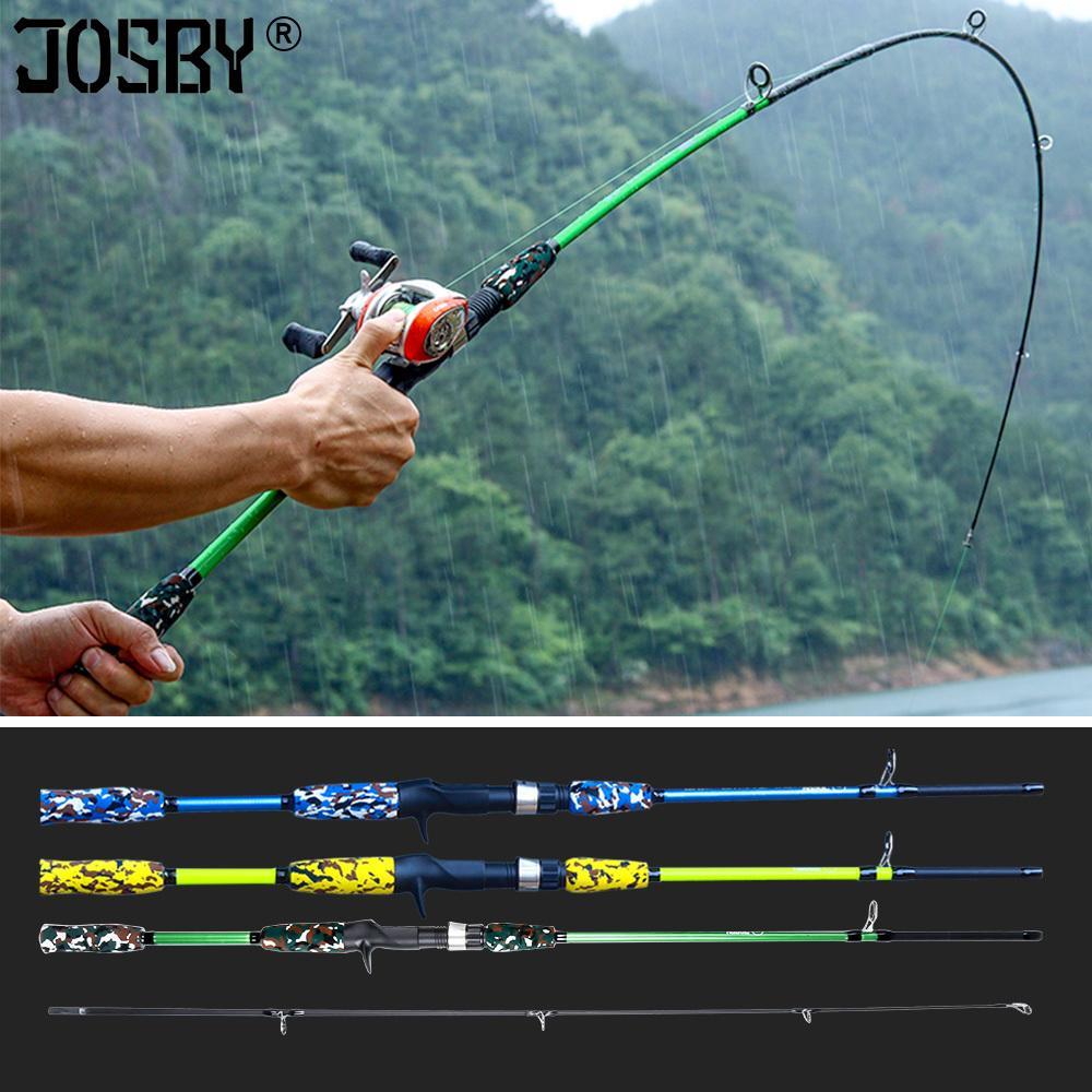 Спиннинг литья рука приманка рыбалка удочка PESCA Carbon Pole Canne CARP Fly Gear Reel Beel Feeder Heater Ultralight Mini Travel Surf 1.8M Q1224