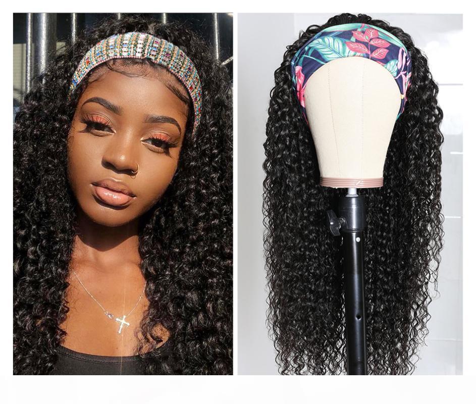 Beaudiva вьющихся волос оголовье парик человеческих волос Easy Половина парик бразильский Kinky завитые оголовье Похоже реальные природные