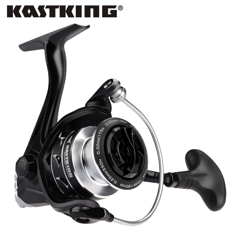 Kastking Eagle Super Light Carbon Spinning Rolle Max Ziehen 10kg Angelrolle für Bass Pike Fishing mit 11 Kugellager 201125