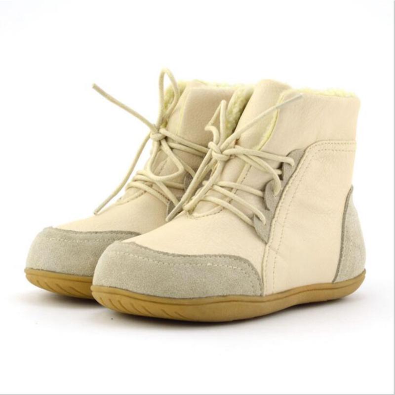 botlar kaymaz kadın kar hakiki erkek orta bacak deri çocuk pamuk dolgulu ayakkabı