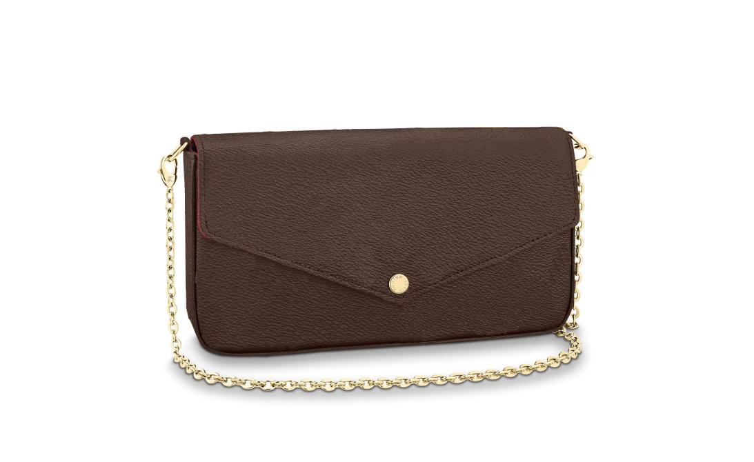 Сумки дизайнеры сумки кошельки цепные коробка мода качества плечо роскошь высоко новейшие почет félicie black сумка с женской пылью сумка ousqf