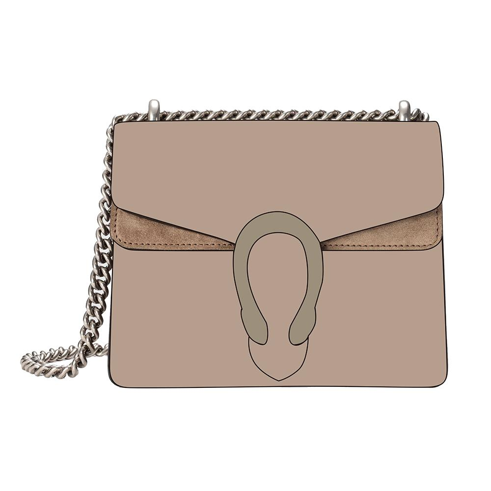 Nuovo lusso Donne Borse del progettista di spalla della frizione di sera del sacchetto del messaggero di Crossbody Bags For borse delle donne