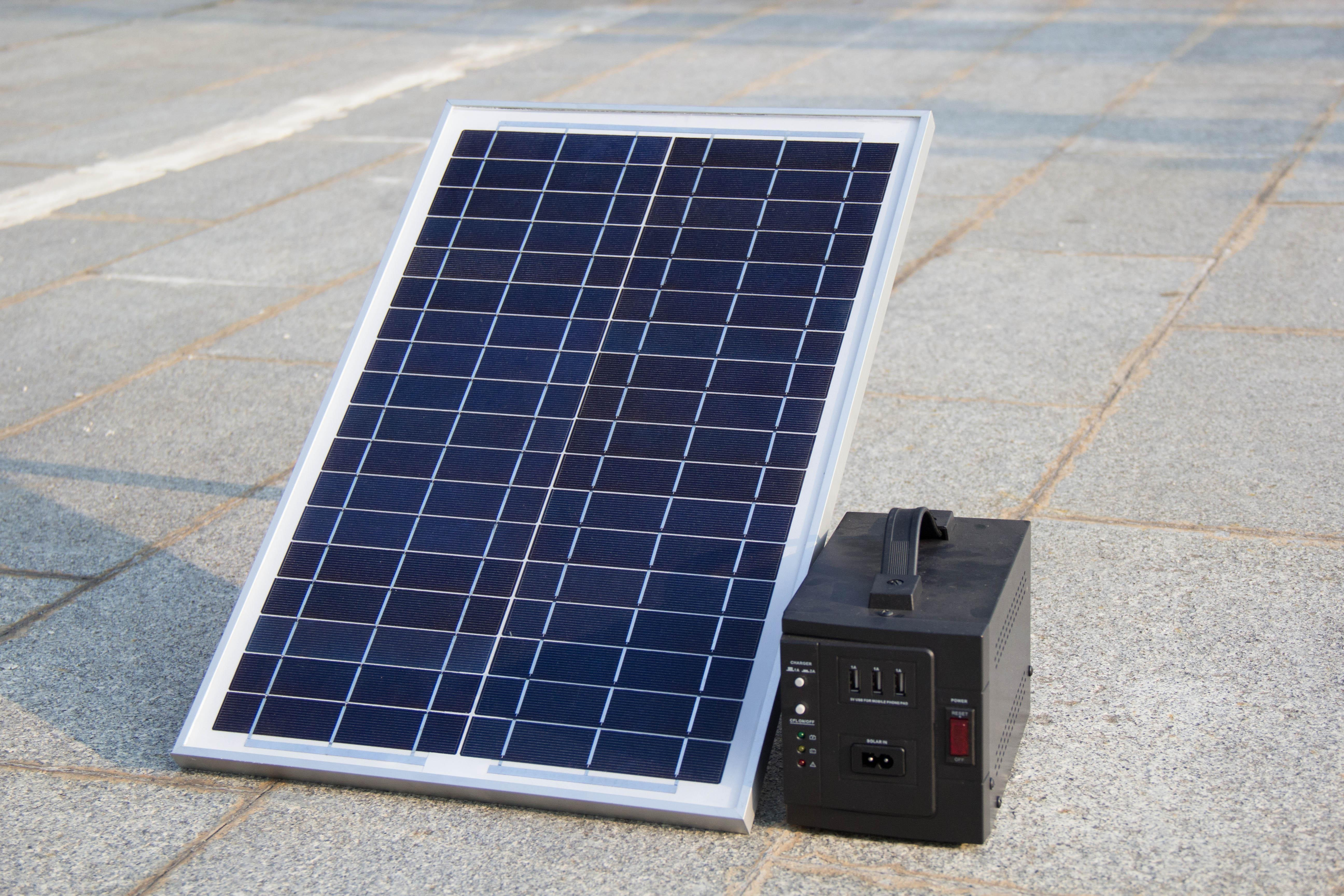 10w DC mini solar kit