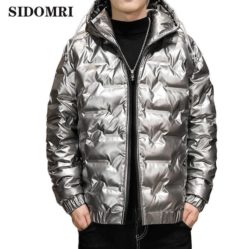 Inverno homens jaqueta 90% de pato branco para baixo casaco com um terno fino engrossado moda tendência quente casaco de alta qualidade