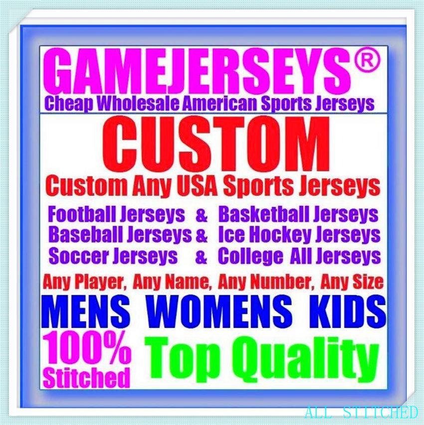 Custom BASEBALL HOCKEY BASKETBALL Mens Womens Youth American football Jerseys Sports Uniforms Official 2021 jersey white 4xl 5xl 6xl