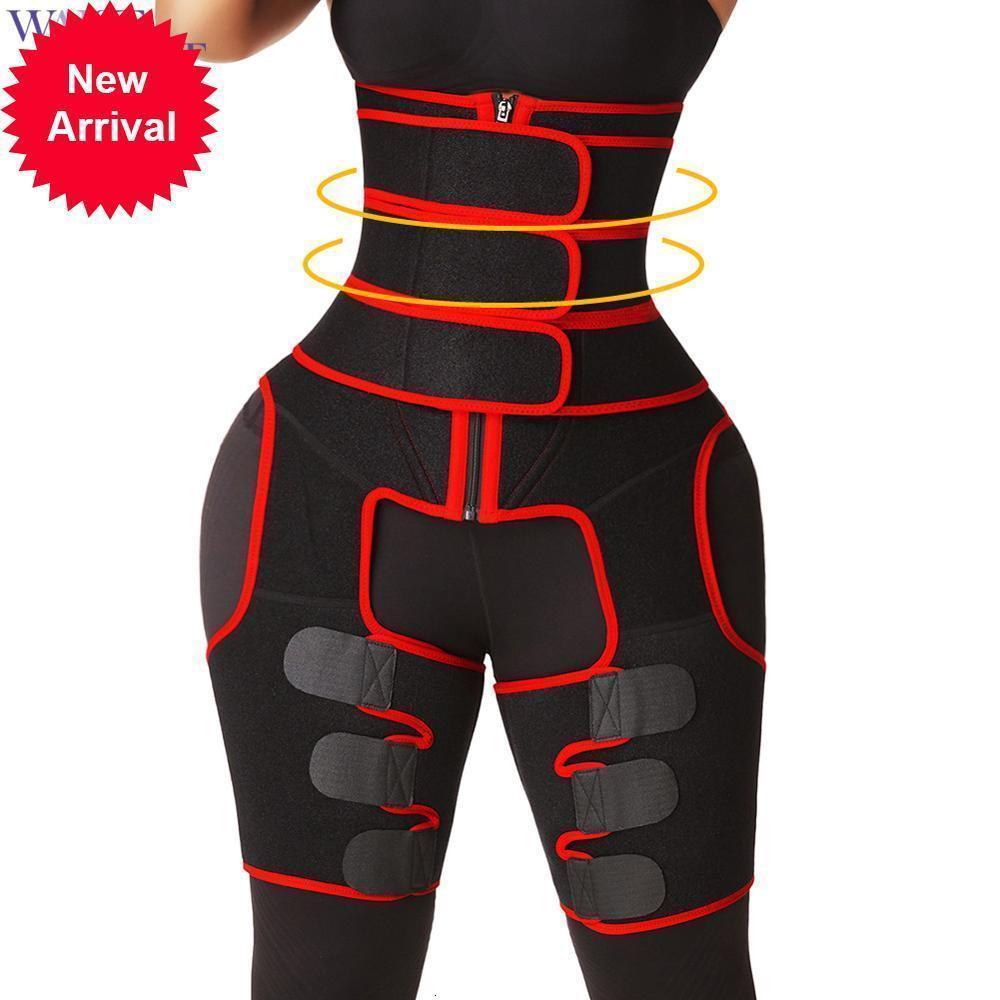 الخصر السري صائغي الساق ضئيلة المرأة عالية المدرب و الفخذ المتقلب فقدان الوزن النيوبرين العرق المشكل