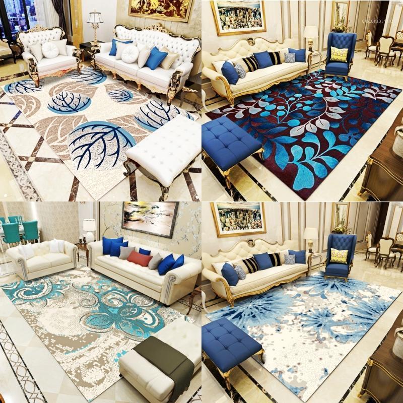 Новый европейский стиль пастырский стиль ковер гостиная диван Ча Ji Tan настраиваемый американский стиль спальня кровать одеяло1